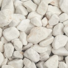 White Pebbles 20-40mm Dry