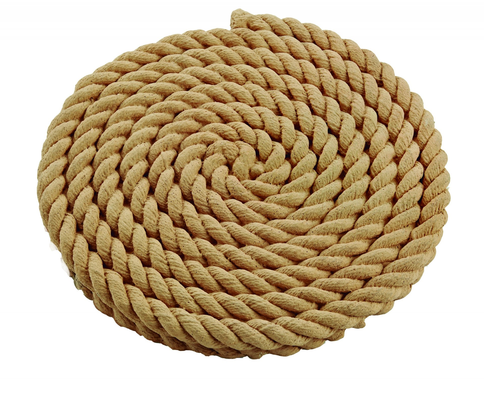 Rope Coil Stepping Stone