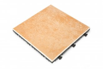 Ceramic Deck Tile Peach