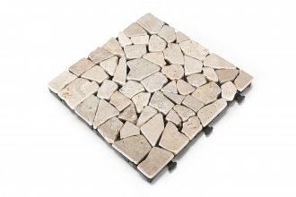 Natural Travertine Mosaic Deck Tile